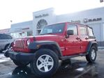 2012 Jeep Wrangler Unlimited Sport 4X4 MANUAL ALLOYS SAT RADIO in Thornhill, Ontario