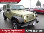 2013 Jeep Wrangler Unlimited Rubicon w/ Touchscreen Navigation & Remote Start in Surrey, British Columbia