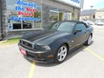 2014 Ford Mustang GT-Convertible, 5.0L eng, Htd leather seats, MP3 in Oshawa, Ontario