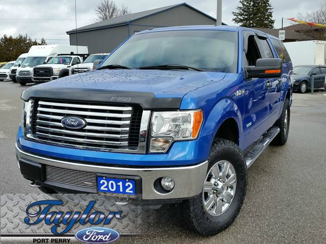 2012 ford f 150 xlt max tow ecoboost xtr blue taylor ford. Black Bedroom Furniture Sets. Home Design Ideas