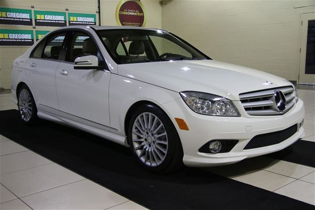 Vehicle details for 2010 mercedes benz c250