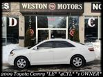 2009 Toyota Camry *LE*4 CYL*FULLY LOADED*1 OWNER* in York, Ontario