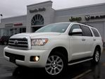 2011 Toyota Sequoia Platinum AWD 7-SEATER NAV LEATHER BACKUP CAM REAR DVD in Thornhill, Ontario