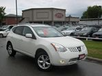 2008 Nissan Rogue SL AWD NO ACCIDENT  LEATHER  ROOF  DVD in Scarborough, Ontario