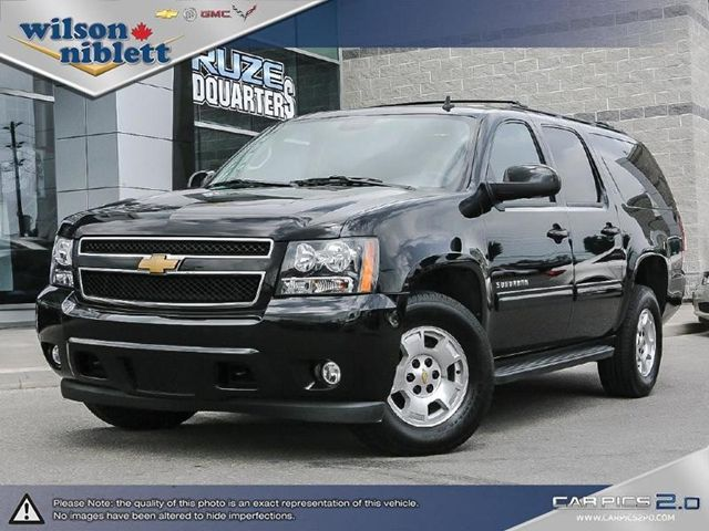 2014 chevrolet suburban 1500 lt black wilson niblett chevrolet buick gmc. Black Bedroom Furniture Sets. Home Design Ideas
