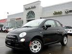 2014 Fiat 500 Pop NEW CONVERTIBLE KEYLESS ENTRY A/C CD/MP3 PLAYER in Thornhill, Ontario