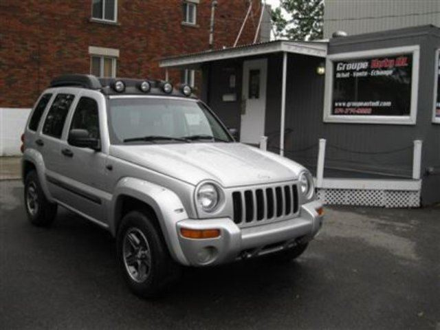 2004 Jeep Liberty Renegade 4X4,CUIR,GR. ?LECTRIQUE in Montreal, Quebec