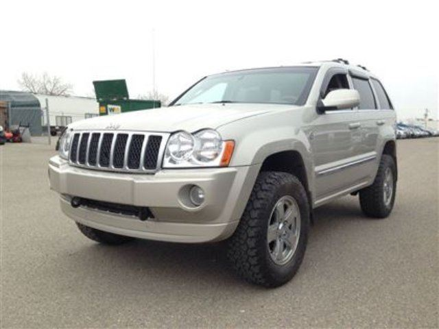2007 jeep grand cherokee overland silver excell auto. Black Bedroom Furniture Sets. Home Design Ideas