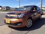 2012 Kia Rio EX SUNROOF ALLOYS BACKUP CAM AUTO in St Catharines, Ontario