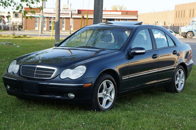 2002 mercedes benz c class classic 4matic sunroof blue for 2002 mercedes benz c class