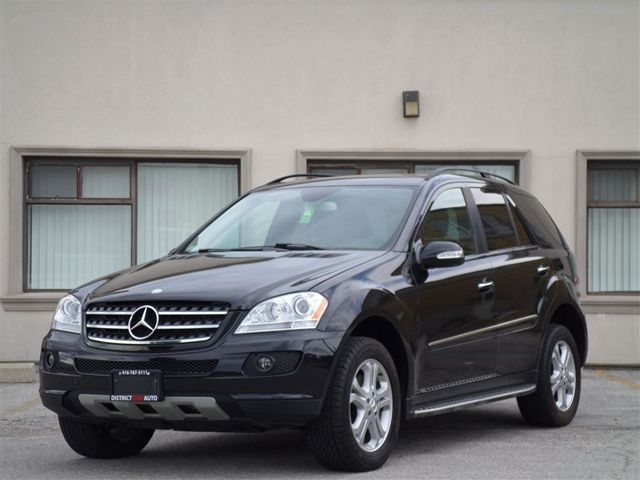 Vehicle details for 2007 mercedes benz m class ml350