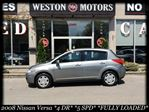 2008 Nissan Versa *4 DR*5 SPD*FULLY LOADED*A/C* in York, Ontario