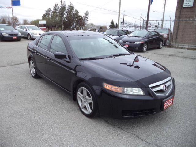 2005 acura tl leather sunroof loaded black imports auto. Black Bedroom Furniture Sets. Home Design Ideas
