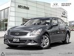 2012 Infiniti G25 Luxury in Mississauga, Ontario