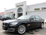 2013 BMW 7 Series 740Li XDRIVE LOADED NAV DVD PKG LEATHER SUNROOF BACKUP CAM in Thornhill, Ontario