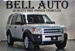 2007 Land Rover LR3 SE V8, 7 Passengers NAVIGATION LEATHER SUNROOF in North York, Ontario