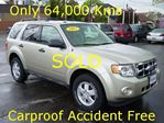 2012 Ford Escape XLT Carproof Accident Free in Hamilton, Ontario