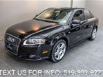 2008 Audi A4 2.0T AWD QUATTRO 6-SPD MANUAL! LEATHER! Sedan in Guelph, Ontario