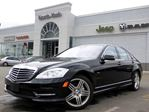 2012 Mercedes-Benz S550 4MATIC LOADED NAV LEATHER SUNROOF H/K AUDIO in Thornhill, Ontario