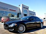 2013 Maserati Quattroporte SPORT GTS  444-HP LOADED LOW KMS MINT CLEANCAR PROOF in Thornhill, Ontario