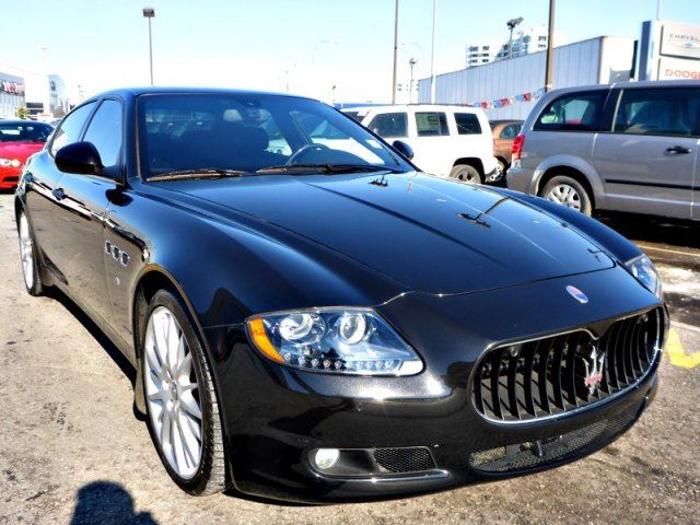 2013 maserati quattroporte sport gts 444 hp loaded low kms. Black Bedroom Furniture Sets. Home Design Ideas