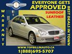 2007 Mercedes-Benz C-Class Avantgarde ** SUNROOF ** LEATHER ** in Vaughan, Ontario