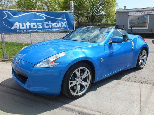 2010 nissan 370z touring longueuil quebec car for sale. Black Bedroom Furniture Sets. Home Design Ideas