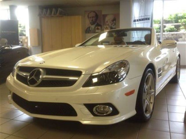 2011 mercedes benz sl class base boucherville quebec for 2011 mercedes benz sl class