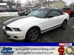 2011 Ford Mustang V6 Convertible *Lthr in Winnipeg, Manitoba