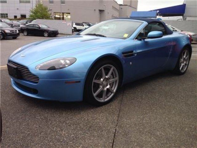 2008 Aston Martin Vantage CONVERTIBLE in Richmond, British Columbia