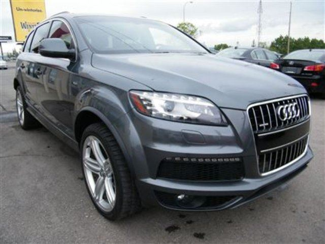 2012 audi q7 3 0 sport s line navi b cam pano roof. Black Bedroom Furniture Sets. Home Design Ideas