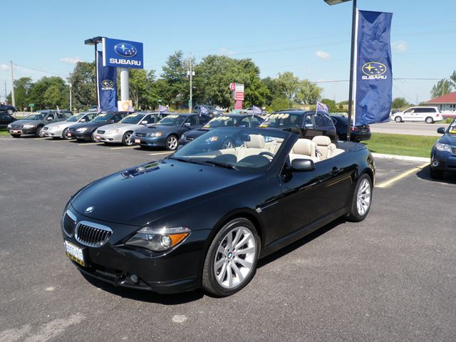 2007 BMW 6 Series CONVERTIBLE in Stratford, Ontario