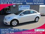 2013 Chevrolet Cruze LT Turbo in Shawinigan, Quebec