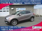 2013 Buick Encore Leather in Shawinigan, Quebec