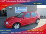 2007 Volkswagen City Golf  2.0 in Shawinigan, Quebec
