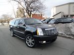 2011 Cadillac Escalade ESV CANADIAN NAVI DUAL DVD'S B.UP CAMERA in Scarborough, Ontario