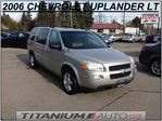 2006 Chevrolet Uplander LT | DVD | Child Seat | Duel A/C & Heat | Keyless Entry | Power Group | Leather Seats | 7 Passengers | CarProof Verified in London, Ontario