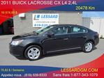 2011 Buick LaCrosse CX in Shawinigan, Quebec