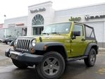 2010 Jeep Wrangler Mountain 4X4 CLEAN CAR PROOF TOW HITCH A/C AUTO in Thornhill, Ontario