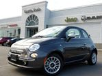 2014 Fiat 500 Lounge NEW CONVERTIBLE LEATHER PARK ASSIST HTD FRT SEATS in Thornhill, Ontario