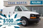 2014 GMC Savana 2500 ONLY 25 300KM ! in North Bay, Ontario
