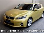 2011 Lexus CT 200h Allan HYBRID - NAVIGATION! SUNROOF! LEATHER! CAMER in Guelph, Ontario