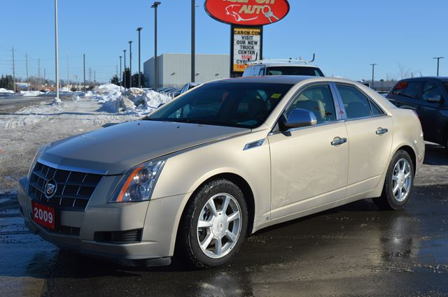 2009 cadillac cts awd 3 6l w bose option beige car on. Black Bedroom Furniture Sets. Home Design Ideas