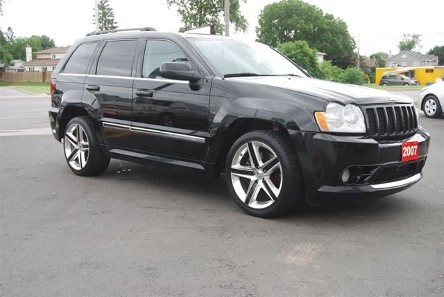 2007 jeep grand cherokee srt8 nav leather dvd ottawa ontario used. Cars Review. Best American Auto & Cars Review
