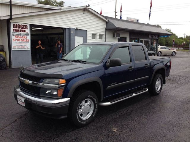 2004 chevrolet colorado crew cab 4x4 finance as low 100 down welland ontario used car for. Black Bedroom Furniture Sets. Home Design Ideas