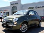 2014 Fiat 500 Lounge NEW CONVERTIBLE LEATHER HTD FRT SEATS PARK ASSIST in Thornhill, Ontario