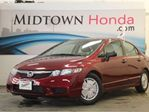 2009 Honda Civic DX-G - Low Mileage, Alloy Wheels, Honda Certified in North York, Ontario