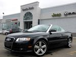 2009 Audi A4 QUATTRO CONVERTIBLE S LINE LEATHER BOSE HTD FRT SEATS in Thornhill, Ontario