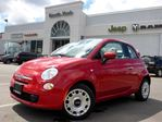2014 Fiat 500 Pop NEW CONVERTIBLE A/C BLUETOOTH CD/MP3 PLAYER CRUISE CONTROL in Thornhill, Ontario