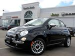 2014 Fiat 500 Lounge NEW CONVERTIBLE LEATHER  HTD FRT SEATS BLUETOOTH ALLOYS in Thornhill, Ontario